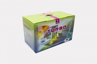 Turbo. Universal wet cleaning system with a manually powered centrifuge