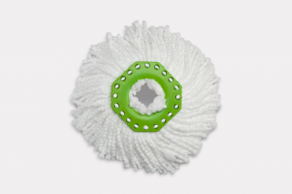 Turbo. Microfiber white attachment for mop